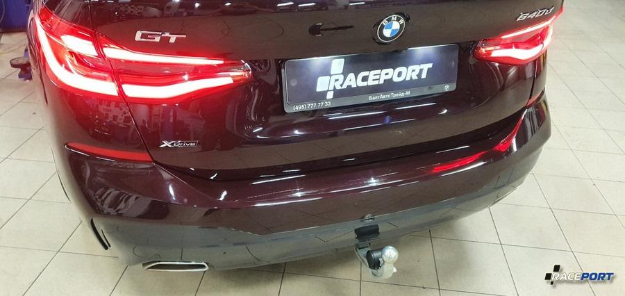 Установка оригинального прицепа BMW