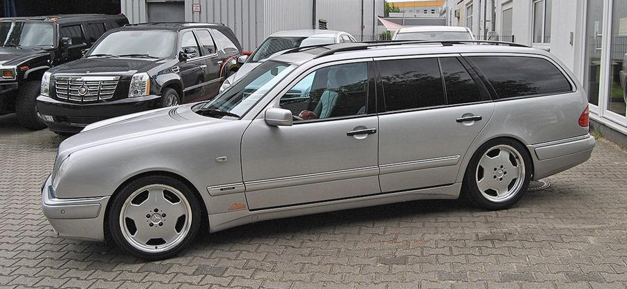 mercedes benz s210 e55 amg wagon