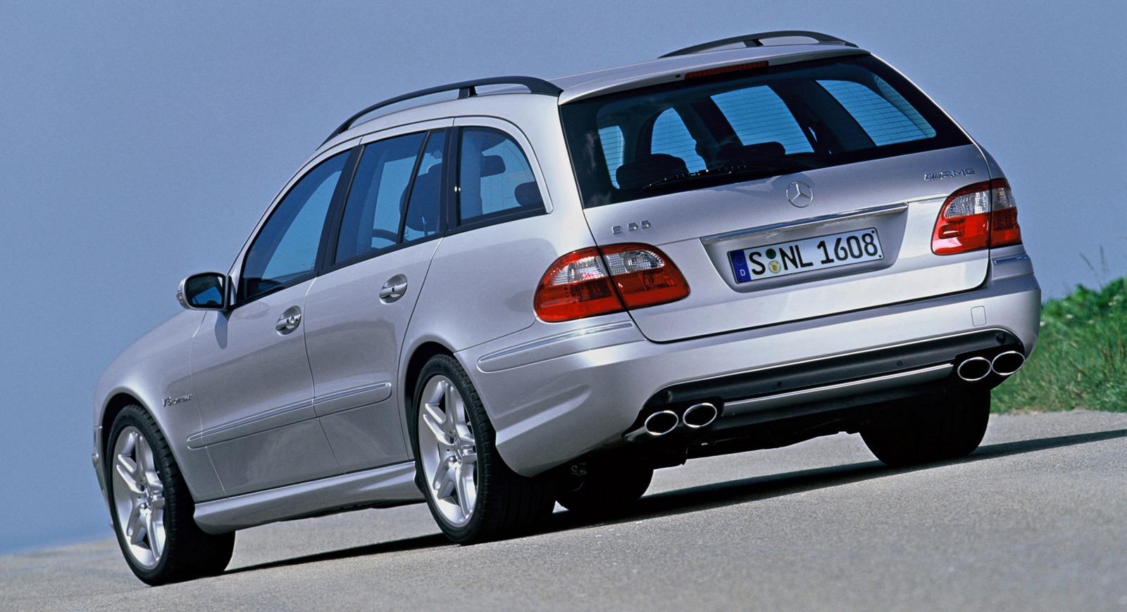 Mercedes Benz S211 E55 AMG wagon