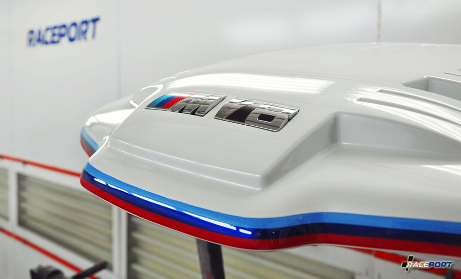 Покраска впускного коллектора БМВ