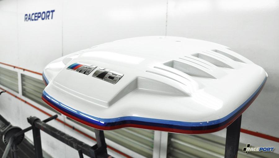 Покраска впускного коллектора