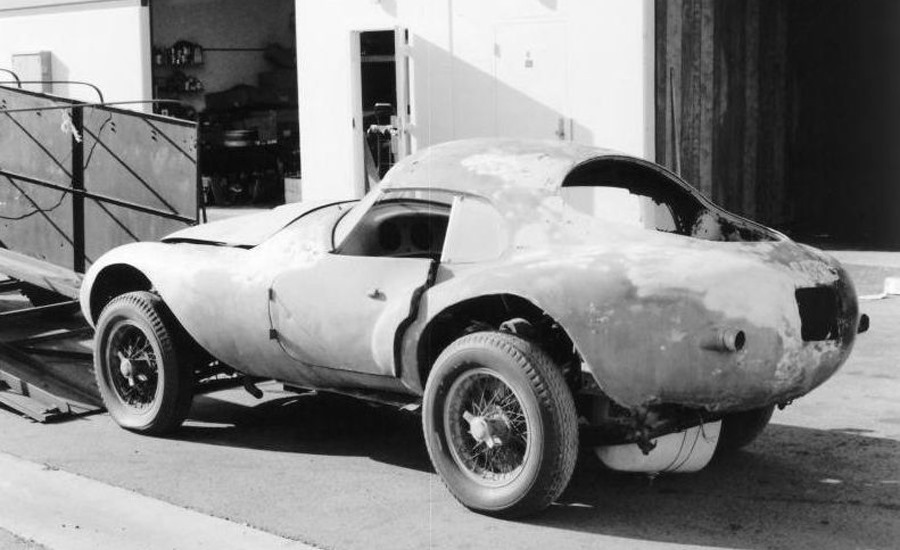 ferrari 166MM 212 Export Uovo 1950 Restoration