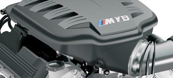 Вариация двигателей BMW V8 S65