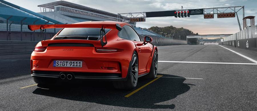 Porsche 911 for trackdays